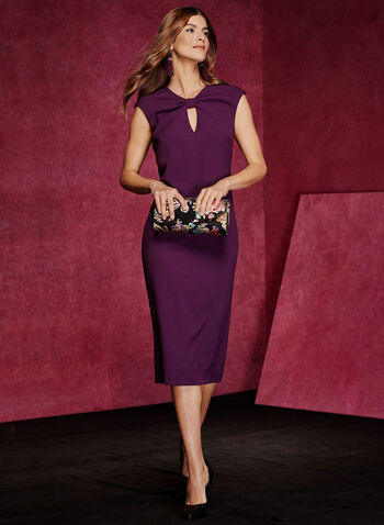 Chetta B - Sleeveless Sheath Dress, , hi-res