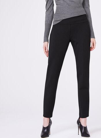 Madison Pull-On Slim Leg Pants, , hi-res