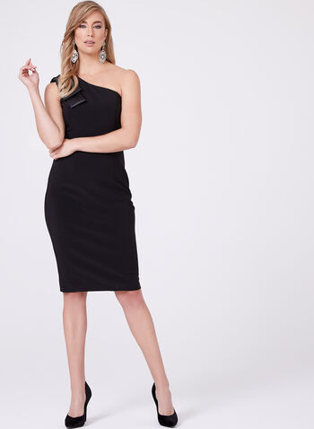 BA Nites - One Shoulder Sheath Dress, , hi-res