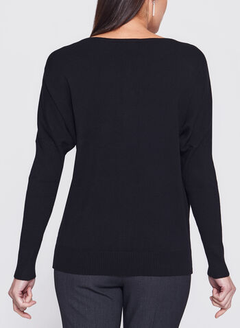 Vex - Beaded Dolman Sleeve Sweater, , hi-res