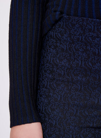 Jacquard Pull-On Pants, , hi-res