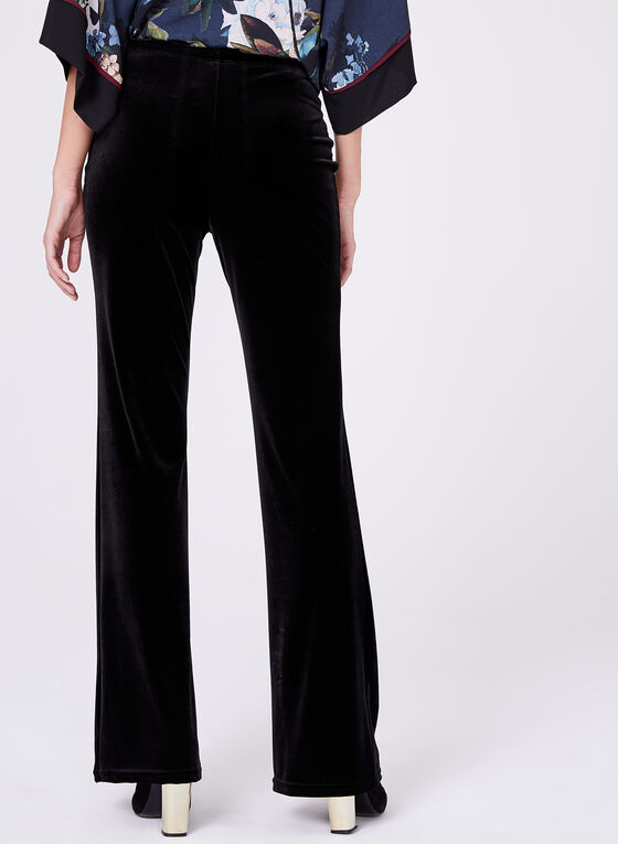 Conrad C - Pull-On Wide Leg Pants, Black, hi-res