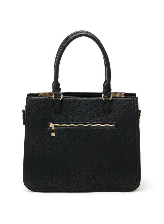 CÉLINE DION - Opus Satchel Bag, Black, hi-res