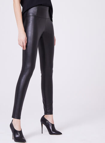 Faux Leather Leggings, , hi-res