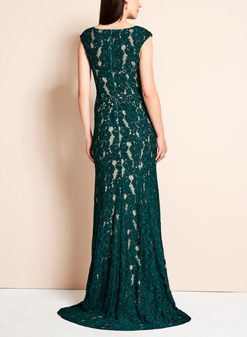 Lace High-Low Mermaid Gown, , hi-res