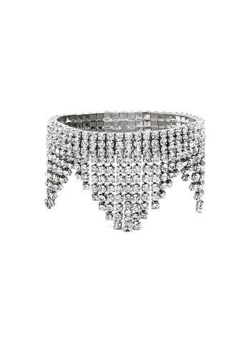 Crystal Fringe Stretch Bracelet, , hi-res
