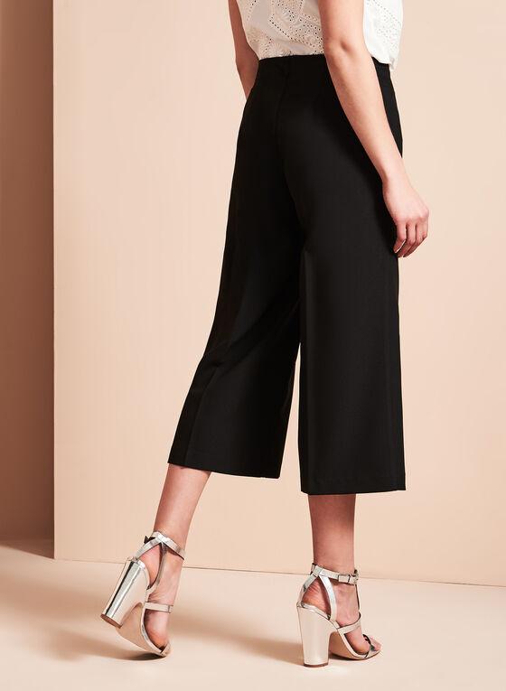 Conrad C - Wide Leg Culottes, Black, hi-res