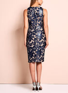 Jax Sequin Lace Sheath Dress, Blue, hi-res