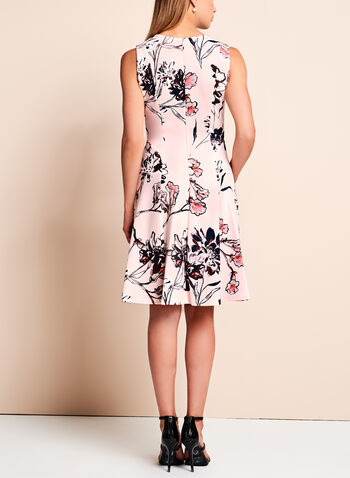 Ivanka Trump Floral Fit & Flare Dress, , hi-res