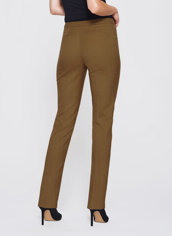 Slim Leg Ankle Pants, , hi-res