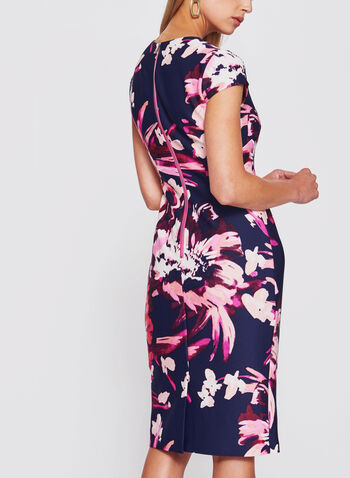 Vince Camuto - Floral Print Scuba Sheath Dress, , hi-res