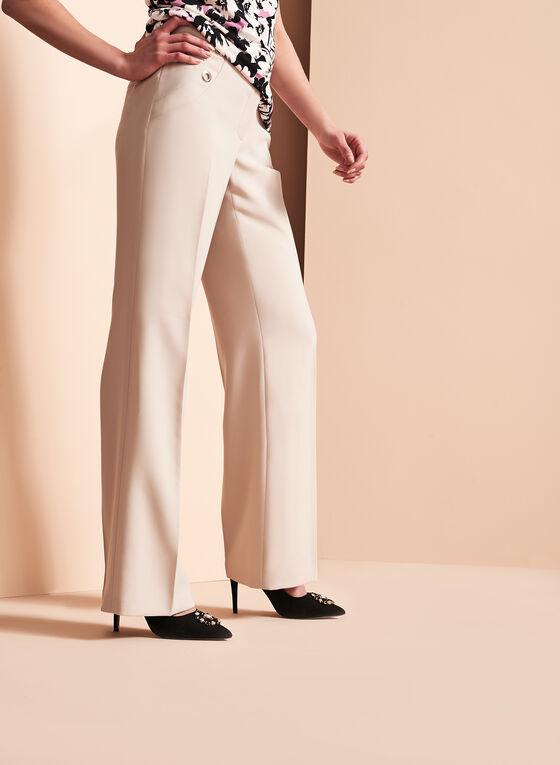 Sailor Wide Leg Pants , Grey, hi-res