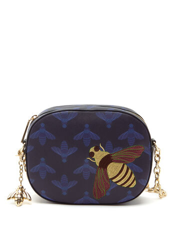 Christian Siriano - Bee Embroidered Shoulder Bag, , hi-res