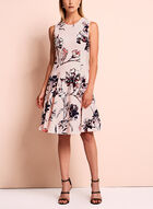 Ivanka Trump Floral Fit & Flare Dress, Multi, hi-res