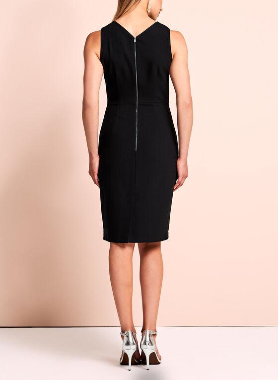 Jax Sleeveless Sheath Dress , Black, hi-res