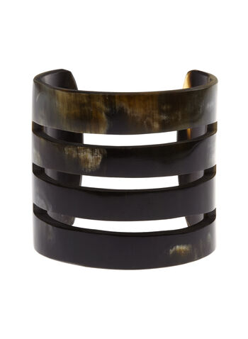 Horn Cuff Bracelet , , hi-res