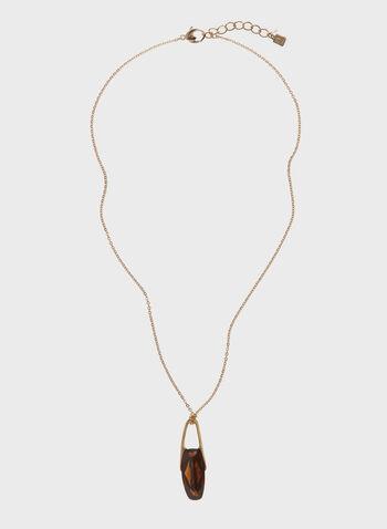 Robert Lee Morris - Collier avec pendentif pierre facettée, , hi-res