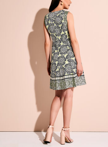 Maggy London - Graphic Floral Print Dress, , hi-res
