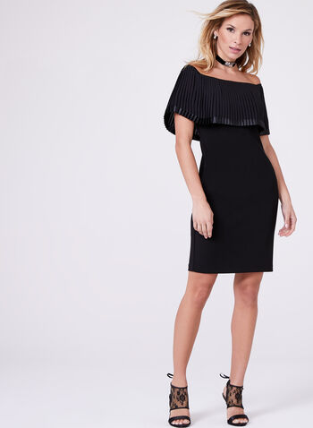 Frank Lyman - Off The Shoulder Embellished Dress, , hi-res