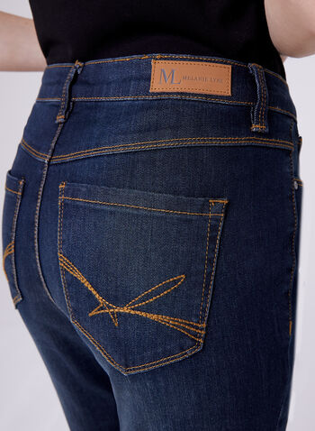 Slim Leg 5-Pocket Ankle Jeans, , hi-res