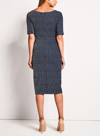 Maggy London - Birdseye Knit Sheath Dress, , hi-res