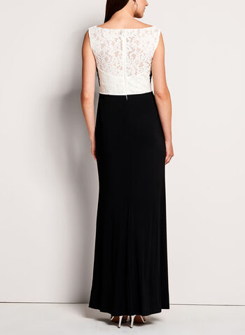 Beaded Lace Jersey Dress, , hi-res
