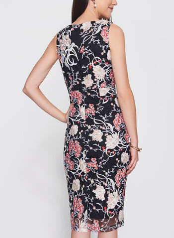Jax - Floral Embroidered Mesh Dress, , hi-res