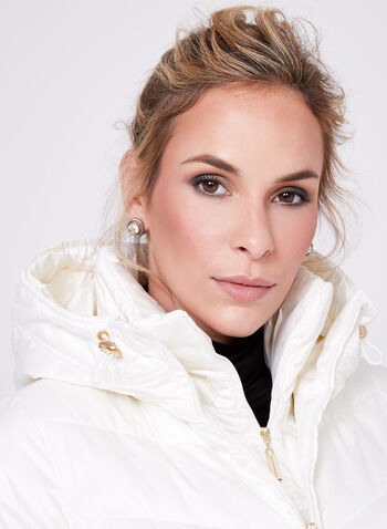 Ellen Tracy - Quilted Coat, , hi-res