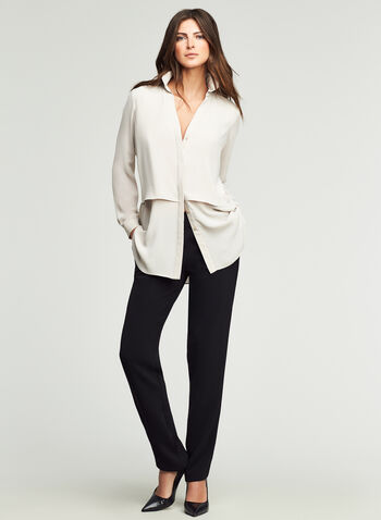 Skye Straight Fit Slim Leg Pants, , hi-res