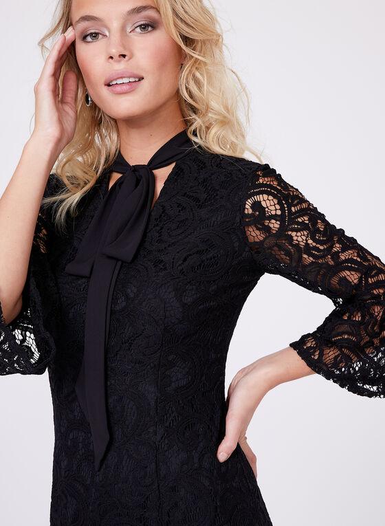 Maggy London - Lace Sheath Dress, Black, hi-res