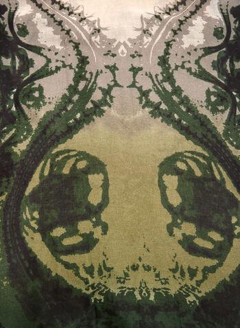 Abstract Print Scarf, , hi-res