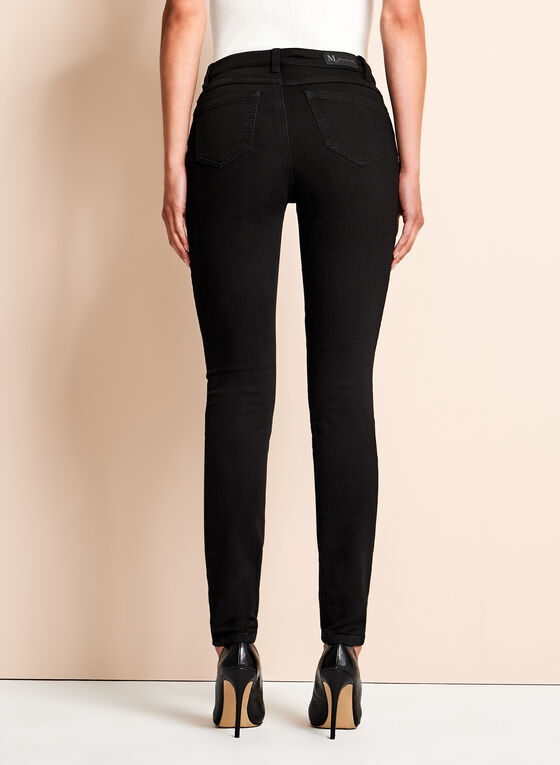 Slim Leg Jeggings, Black, hi-res