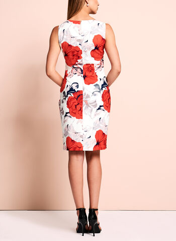 Ivanka Trump Floral Scuba Dress, , hi-res