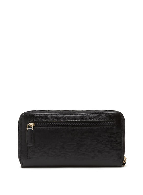 CÉLINE DION - Cavatina Long Zipped Wallet, Black, hi-res