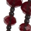 Tasseled Lariat Necklace, Red, swatch